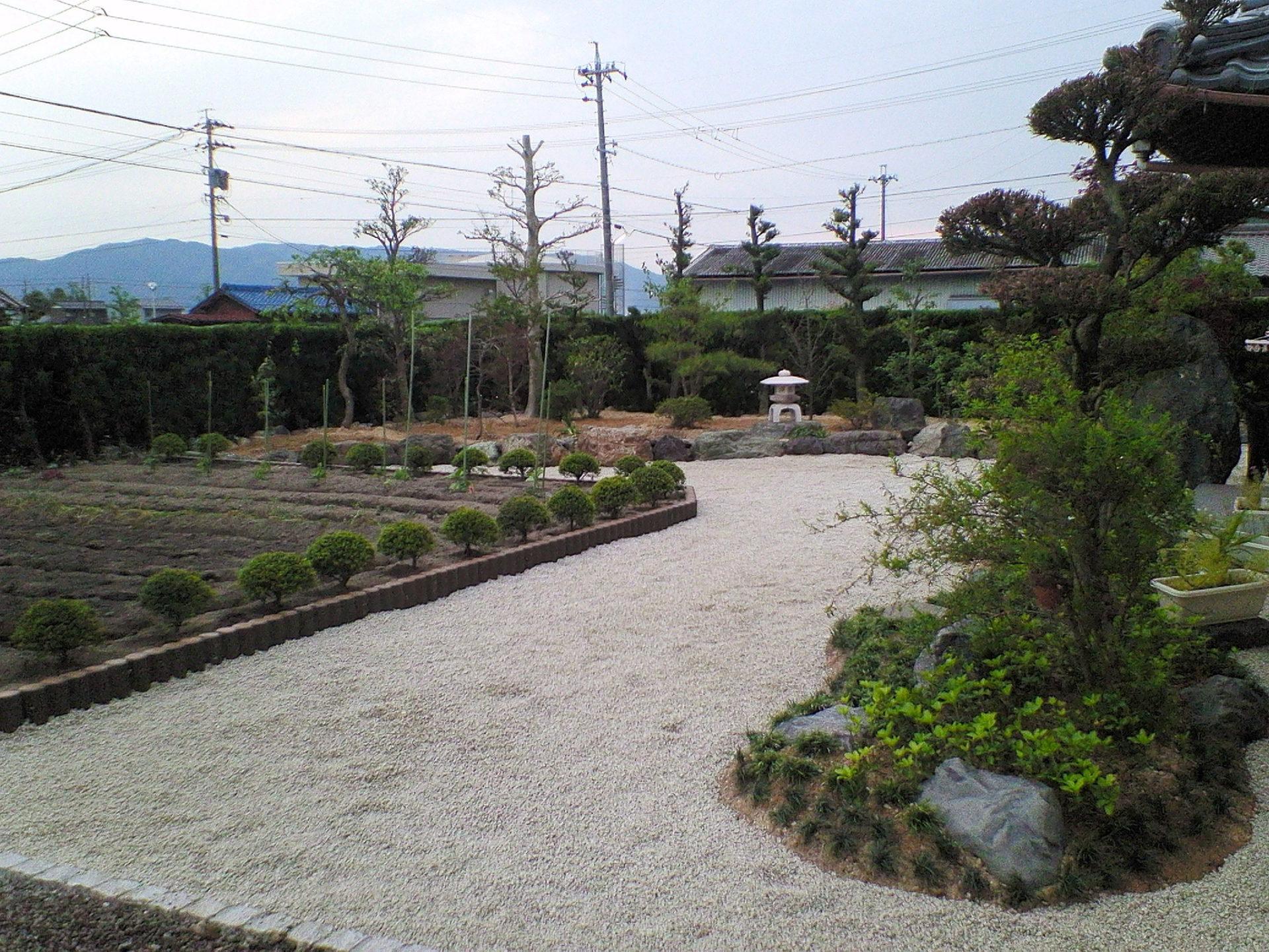K様邸 日本庭園事例