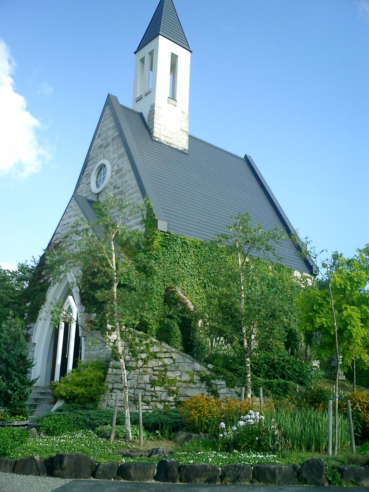 牧歌の里 教会周辺植栽工事