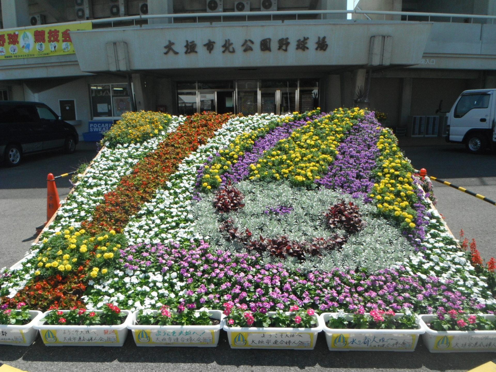 大規模花壇事例